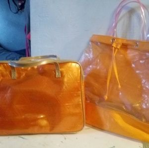 Clinique Makeup + Cosmetic bags.....